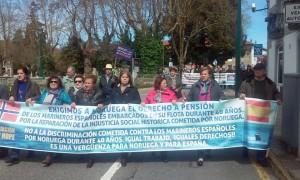 Manifestación Santiago 18-04-2016
