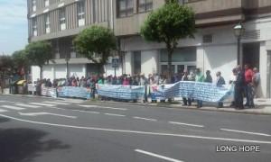 Manifestación en Santiago 20-05-2016